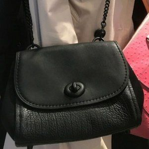 COACH FAYE CROSSBODY (F22349) MATTE BLACK/BLACK